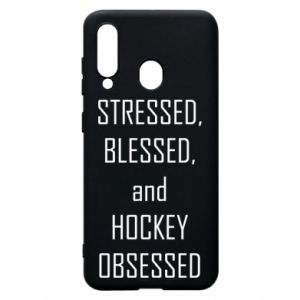 Samsung A60 Case Hockey