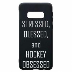 Samsung S10e Case Hockey