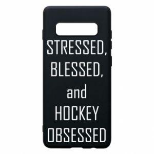Samsung S10+ Case Hockey