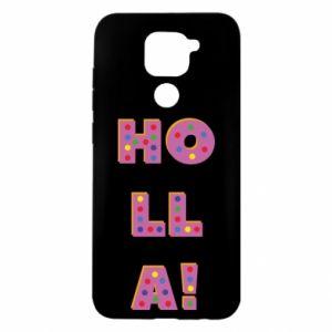 Xiaomi Redmi Note 9 / Redmi 10X case % print% Holla!