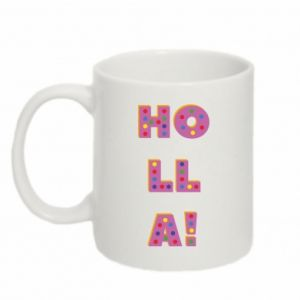 Mug 330ml Holla!