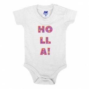 Baby bodysuit Holla!