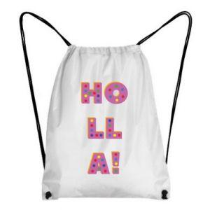 Backpack-bag Holla!