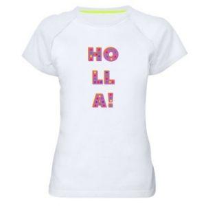 Koszulka sportowa damska Holla!