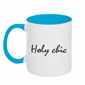 Kubek dwukolorowy Holy chic