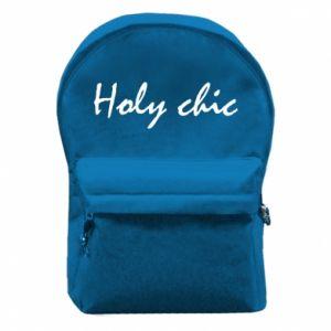 Plecak z przednią kieszenią Holy chic