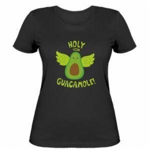 Damska koszulka Holy guacamole inscription
