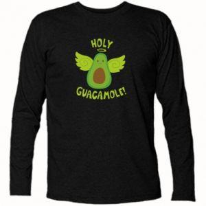 Koszulka z długim rękawem Holy guacamole inscription