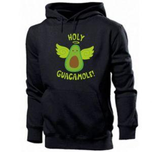 Męska bluza z kapturem Holy guacamole inscription