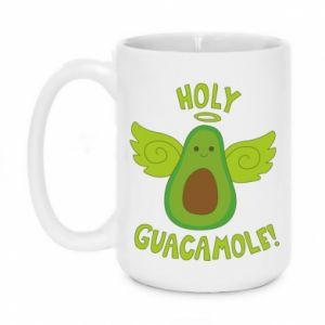 Kubek 450ml Holy guacamole inscription