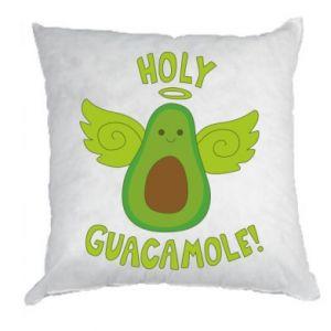 Poduszka Holy guacamole inscription