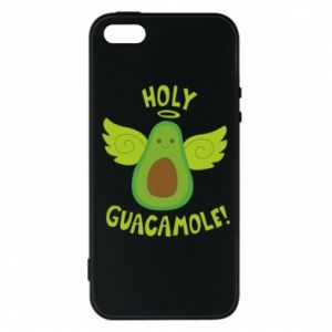 Etui na iPhone 5/5S/SE Holy guacamole inscription