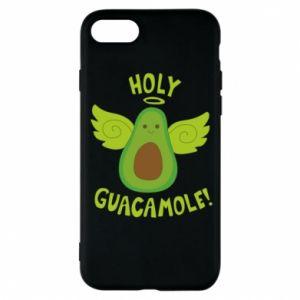 Etui na iPhone 8 Holy guacamole inscription