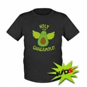 Dziecięcy T-shirt Holy guacamole inscription