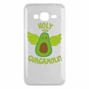Etui na Samsung J3 2016 Holy guacamole inscription