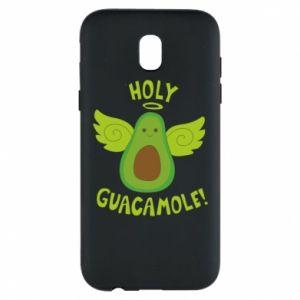 Etui na Samsung J5 2017 Holy guacamole inscription