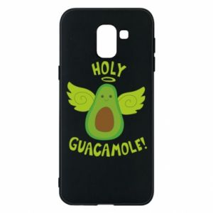 Etui na Samsung J6 Holy guacamole inscription