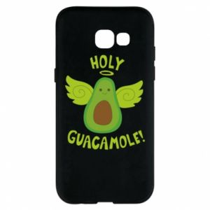 Etui na Samsung A5 2017 Holy guacamole inscription