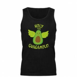 Męska koszulka Holy guacamole inscription
