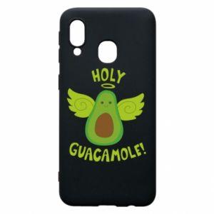 Etui na Samsung A40 Holy guacamole inscription