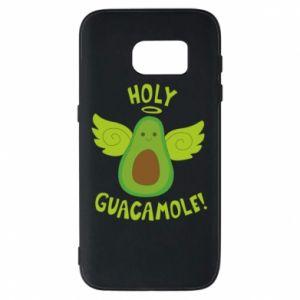 Etui na Samsung S7 Holy guacamole inscription