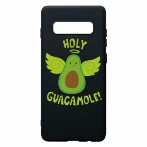 Etui na Samsung S10+ Holy guacamole inscription