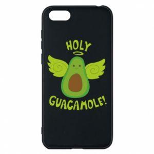 Etui na Huawei Y5 2018 Holy guacamole inscription