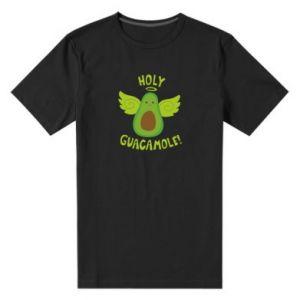 Męska premium koszulka Holy guacamole inscription