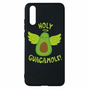 Etui na Huawei P20 Holy guacamole inscription