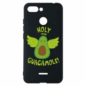 Etui na Xiaomi Redmi 6 Holy guacamole inscription