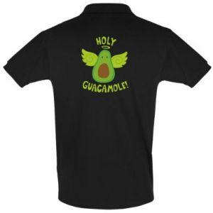 Koszulka Polo Holy guacamole inscription