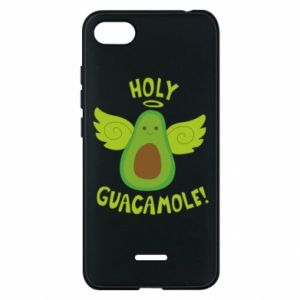 Etui na Xiaomi Redmi 6A Holy guacamole inscription