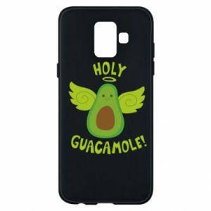 Etui na Samsung A6 2018 Holy guacamole inscription