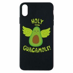 Etui na iPhone Xs Max Holy guacamole inscription