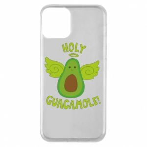 Etui na iPhone 11 Holy guacamole inscription