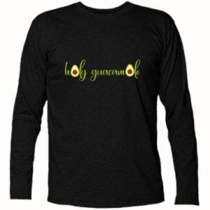 Koszulka z długim rękawem Holy guacamole