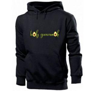 Męska bluza z kapturem Holy guacamole