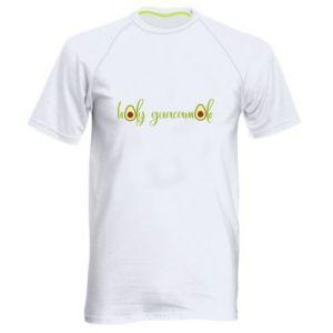 Męska koszulka sportowa Holy guacamole