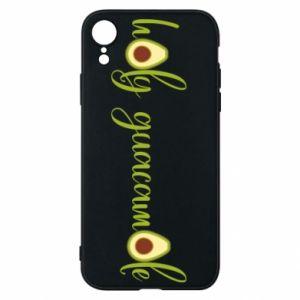 Etui na iPhone XR Holy guacamole