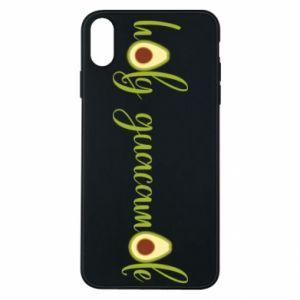 Etui na iPhone Xs Max Holy guacamole