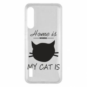 Etui na Xiaomi Mi A3 Home is where my cat