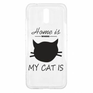 Etui na Nokia 2.3 Home is where my cat
