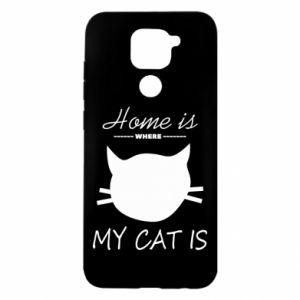 Etui na Xiaomi Redmi Note 9/Redmi 10X Home is where my cat