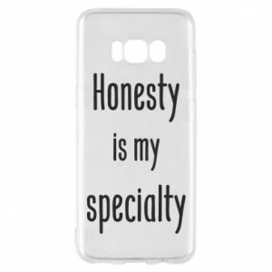 Etui na Samsung S8 Honesty is my specialty