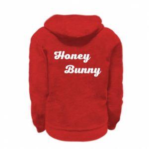 Bluza na zamek dziecięca Honey bunny