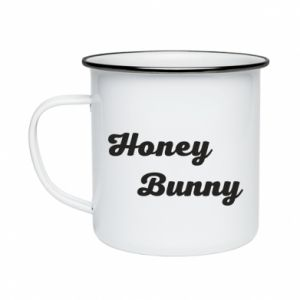 Kubek emaliowany Honey bunny