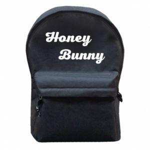 Plecak z przednią kieszenią Honey bunny