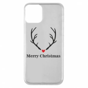 Phone case for iPhone 11 Horn, Merry Christmas