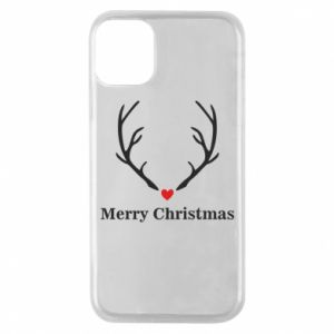 Phone case for iPhone 11 Pro Horn, Merry Christmas