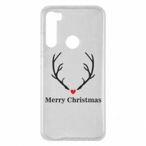 Etui na Xiaomi Redmi Note 8 Horn, Merry Christmas